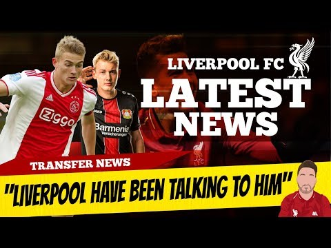 Matthijs De Ligt Liverpool Have Been Talking To Him! Timo Werner Update | Liverpool Transfer News