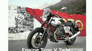 9. 2013 Moto Guzzi V7 Racer - Details and Specification