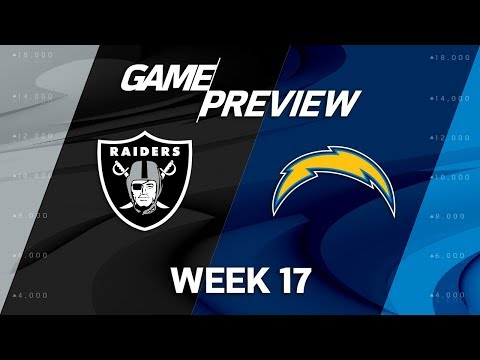 Video: Oakland Raiders vs. Los Angeles Chargers | NFL Week 17 Game Preview | NFL
