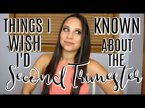 THINGS I WISH I'D KNOWN ABOUT THE SECOND TRIMESTER OF PREGNANCY