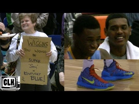 Andrew Wiggins shows complete game in Ohio – Dunk 4 Diabetes, Flyin To The Hoop, Play By Play