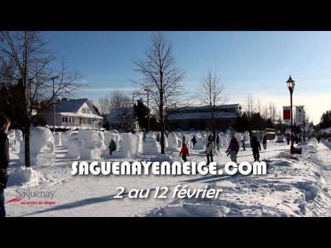 Saguenay en neige débute aujourd'hui