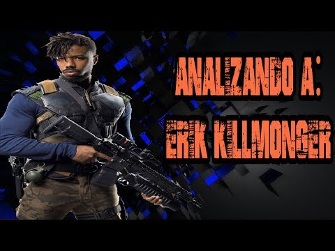 Analizando A Erik Killmonger/golden Jaguar (ucm)