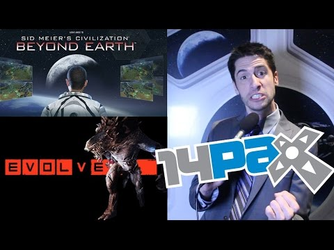 HANDS ON with Evolve & Civilization: Beyond Earth – Pax Prime 2014