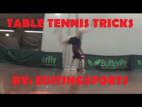 Table tennis trick shots that will blow your mind 2.0