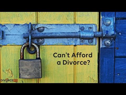 Divorce - I'm Miserable, but I Can't Afford a Divorce - 2 min Tip