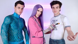 Video Body Painting Clothes On The Dolan Twins MP3, 3GP, MP4, WEBM, AVI, FLV Maret 2019