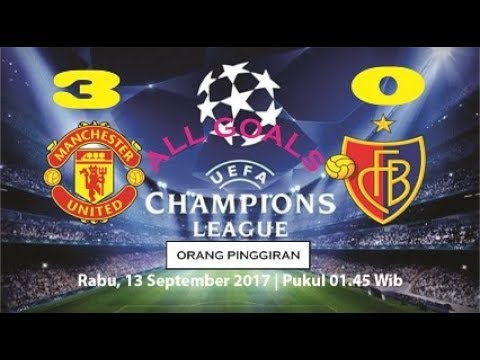 MANCHESTER UNITED VS BASEL 3-0 CHAMPIONS LEAGUE. Highlights & All Goals - 12/09/2017 |HD|