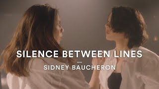 "The silence is deafening in this Sidney Baucheron original. Check out this amazing Dance Story  #DanceStoriesSubscribe to DanceOn!►► http://bit.ly/DanceOnYTDanceOn brings you Dance Stories, where we put the creative reins in the hands of our DanceOn Network talent and help them bring their unique vision to life! This video was choreographed by Sidney Baucheron featuring his song ""Silence Between Lines"". -CONNECT WITH SIDNEY BAUCHERON-Facebook: https://www.facebook.com/sidney.baucheronYouTube: https://www.youtube.com/channel/UC_Z8KaUdh_1U0Seu2BJVQswInstagram: https://www.instagram.com/sidneybaucheron/-CONNECT WITH DANCEON-YouTube: https://www.youtube.com/danceonTwitter: https://twitter.com/DanceOnFacebook: https://www.facebook.com/DanceOnNetworkInstagram: https://www.instagram.com/DanceOn-WHO DID THIS?-VP of Production: Cara GoldbergVP of Content & Platform Strategy: Roxanne TetiComposer, Choreographer & Director: Sidney BaucheronDancers: Naomi Wada (@naomi.wada.589), Lyée Moulinet (@lyee.m)Music: ""Silence Between Lines"" by Sidney BaucheronMusic Partnerships: Erica Forster, Jason CienkusIf you wanna be all official about it: For DanceOn music partnership inquiries: music@danceon.comFor DanceOn talent partnership inquiries: recruiting@danceon.com For press inquiries, we'd love to chat!: press@izo.com"