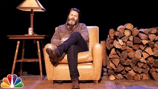 Nick Offerman Recites a Poem In His Natural Habitat and Its Amazingness Exceeds Expectations