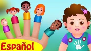 Canción de La Familia Dedo | Canciones Infantiles Populares En Español | ChuChu TV