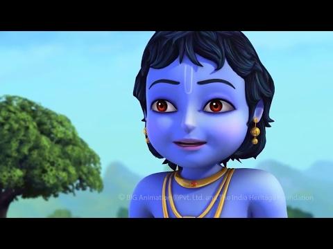 Little Krishna - Brave Warrior (Hindi)   Cartoon Movie