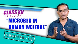 Class XII Biology Chapter 10: Microbes in Human Welfare