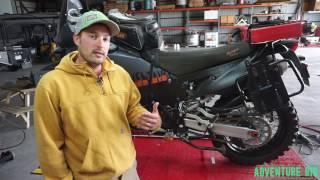 7. Sidestand Relocation Bracket KTM 990/950 ADV by CJ Designs [Review]