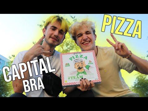 DYMA probiert die CAPITAL BRA Pizza!💛