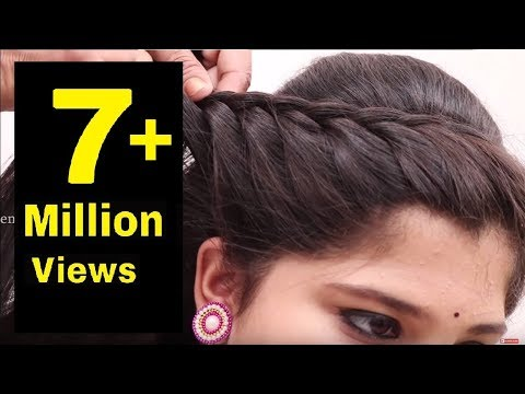 Easy Hair Style For Long Hair || Puff Hair Style || Ladies Hair Style Videos 2017