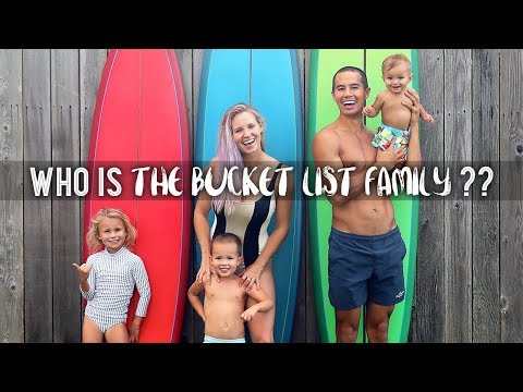 Who is The Bucket List Family??