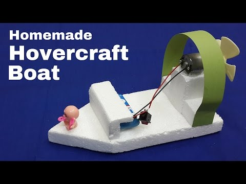 Video How to Make an Electric Toy Hovercraft Boat that Moves Faster download in MP3, 3GP, MP4, WEBM, AVI, FLV January 2017