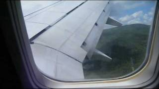 Just a short clip capturing some passenger reactions to landing in one of the world's most dangerous commercial airports.