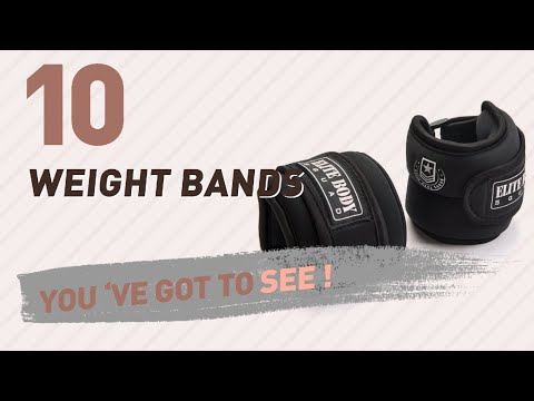 Strength Training Equipment - Weight Bands // Amazon UK Most Popular
