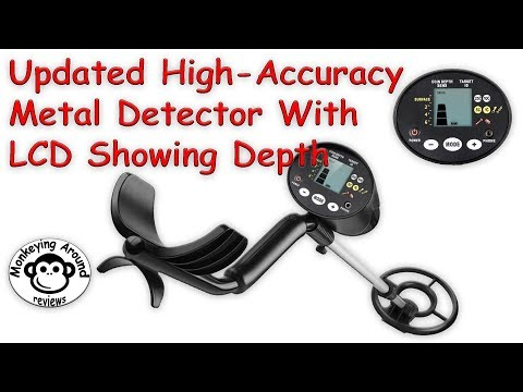 Updated High Accuracy Metal Detector with LCD by INTEY review