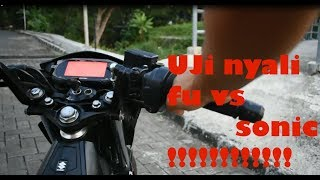 TEST RIDING SONIC 150R VS FU INJEKSI