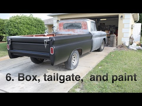 6  Truck box, tailgate, and paint  | 1961 Chevy Apache Restoration