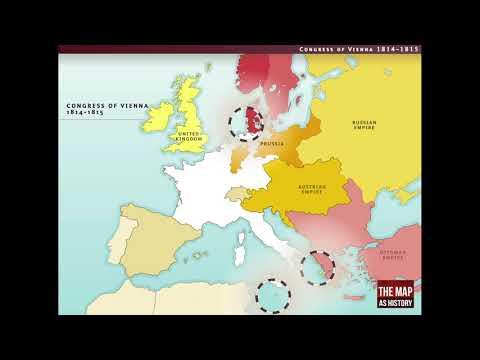 The Congress of Vienna, 1814-1815