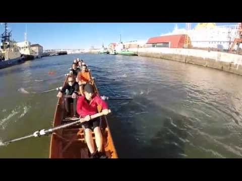 Rowing in Lisbon at CNL – Clube Naval de Lisboa