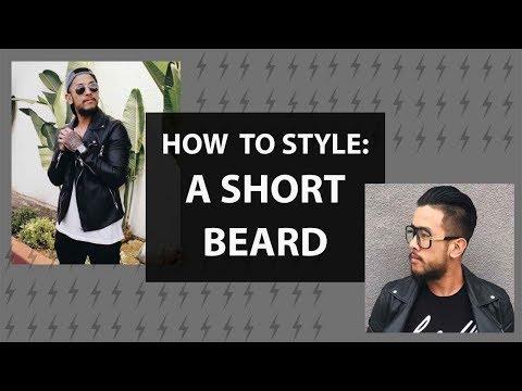 Beard oil - How to Style: A Short Beard