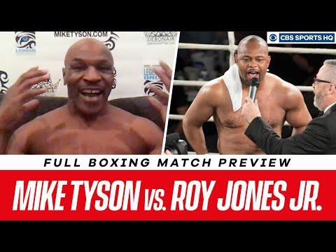Mike Tyson vs. Roy Jones Jr. Fight Preview | CBS Sports HQ