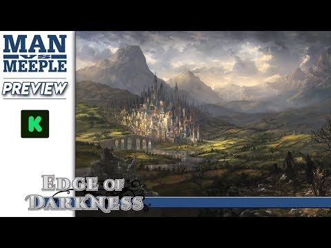 Edge of Darkness (AEG) Preview by Man Vs Meeple (видео)