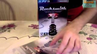 """[Unboxing PS3] """"Rocksmith"""" en Español Nuevo unboxing: """"Rocksmith"""" es un juego musical de Ubisoft que se caracteriza por ser..."""