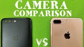 Oneplus 5 vs iPhone 7 Plus Camera Comparison | Oneplus 5 Camera Review