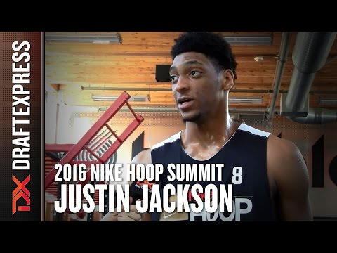 2016 Justin Jackson Nike Hoop Summit Interview - DraftExpress