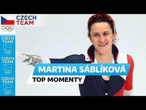 Zlatá Martina Sáblíková