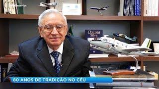Aeroclube de Bauru faz homenagem a Ozires Silva no Dia do Aviador