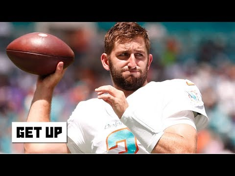 Video: Josh Rosen is collateral damage in the Dolphins' tanking – Louis Riddick | Get Up