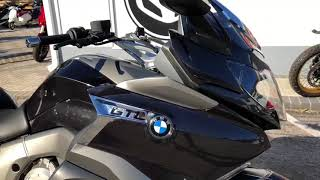 9. 2018 BMW K 1600 GTL Thunder Grey Metallic at Euro Cycles of Tampa Bay