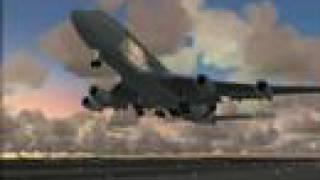 Emergency Landing-Emirates SkyCargo 747-400F The Best
