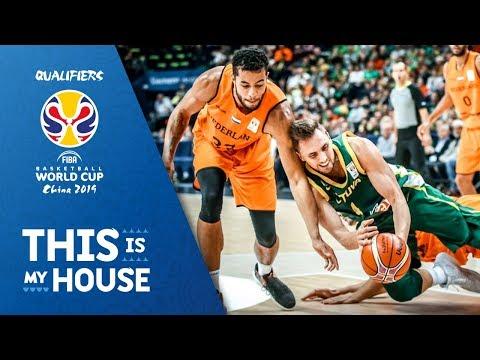 Lithuania v Netherlands - Highlights - FIBA Basketball World Cup 2019 - European Qualifiers