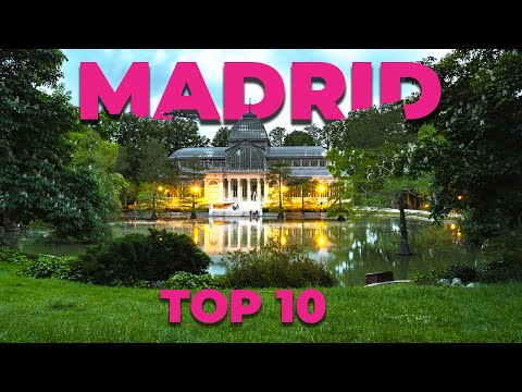 TOP 10 TOURIST ATTRACTIONS IN MADRID: Madrid Travel Guide. Sightseeing in Madrid (Spain)
