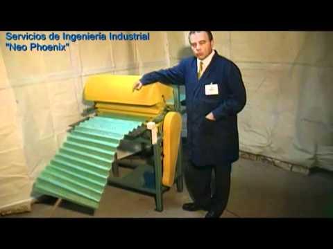 roladoras.plegadoras - Máquinas para fabricación de filtros desechables para ductos de aire acondicionado y otros. Plegadoras de fibra, Troqueladoras (Suajadoras), Engomadoras, Tro...