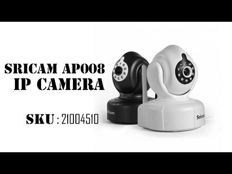 Sricam AP008 Wireless HD 720P P2P IP Camera with IR-CUT