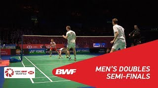 Video MD | GIDEON/SUKAMULJO (INA) [1] vs CONRAD-PETERSEN/KOLDING (DEN) [6] | BWF 2018 MP3, 3GP, MP4, WEBM, AVI, FLV Januari 2019