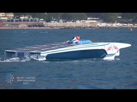 Monaco Solar & Electric Boat Challenge 2017 - Day 1