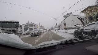 Bariloche y su gente en un día de nieve!!!!