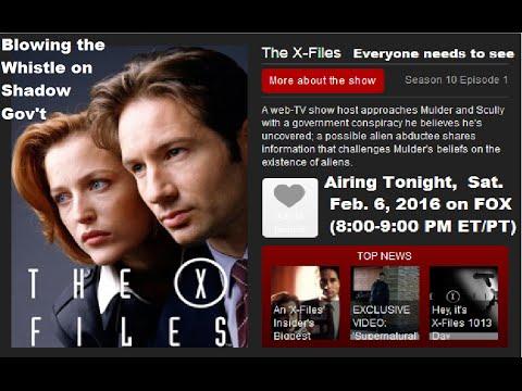 X-Files Season 10 Episode 1, aired Feb. 6