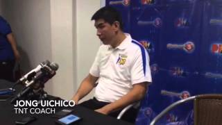 Uichico on TNT's win over Blackwater sans import