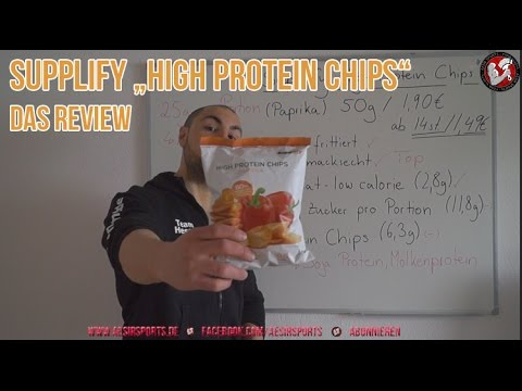 [Video] Review: High Protein Chips von Supplify im Test – Ein würdiger Snack?